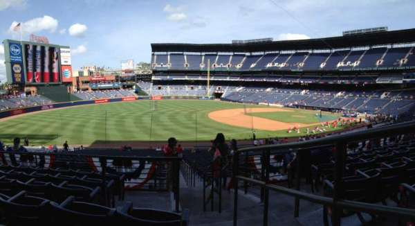 Turner Field, section: 222, row: 6, seat: 101