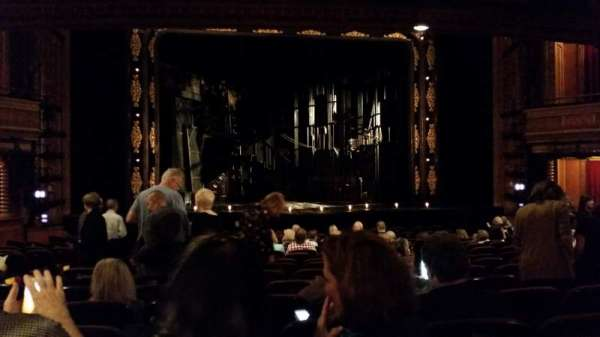 American Airlines Theatre, section: Orchestra center, row: O, seat: 112