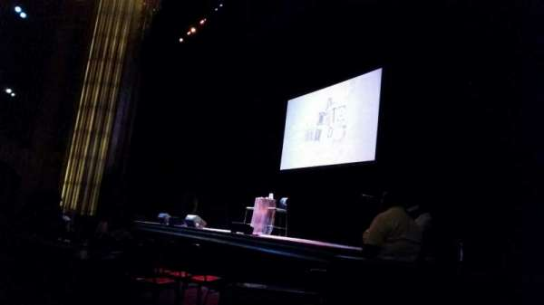Paramount Theater (Oakland) , section: Orch, row: D, seat: 12