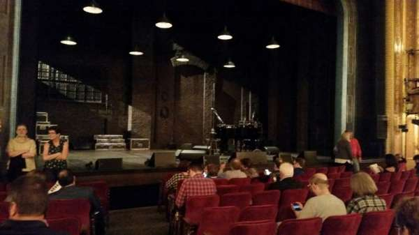 Walter Kerr Theatre, section: Orchestra L, row: K, seat: 1