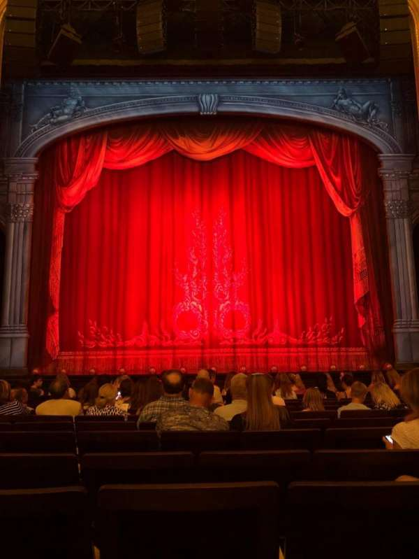 Hudson Theatre, section: Orchestra, row: L, seat: 109