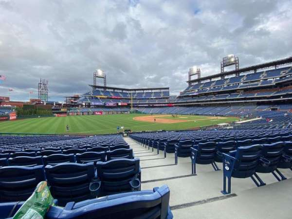 Citizens Bank Park, section: 136, row: 28, seat: 4
