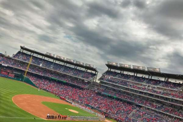 Nationals Park, section: 205, row: G, seat: 11