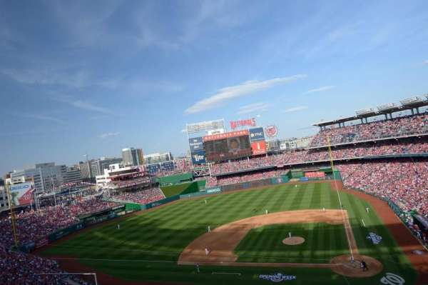 Nationals Park, section: 310, row: D, seat: 18