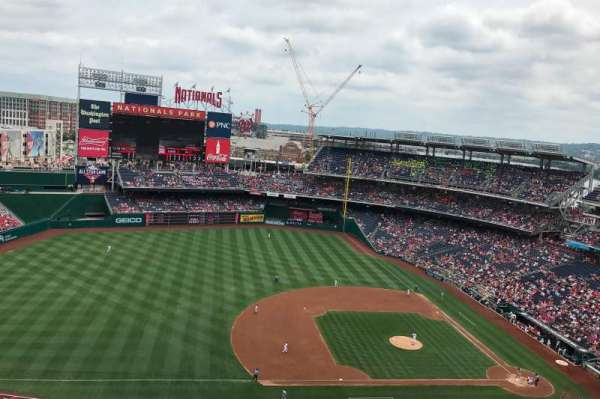 Nationals Park, section: 406, row: J, seat: 12