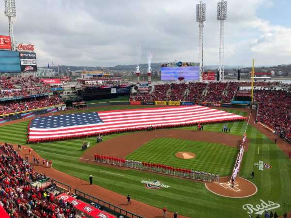 Great American Ball Park, section: 420, row: B, seat: 6