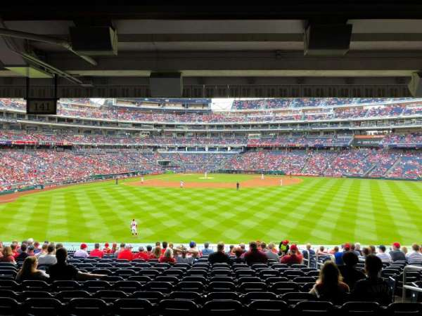 Nationals Park, section: 141, row: V, seat: 5