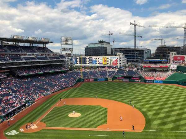 Nationals Park, section: 319, row: F, seat: 9
