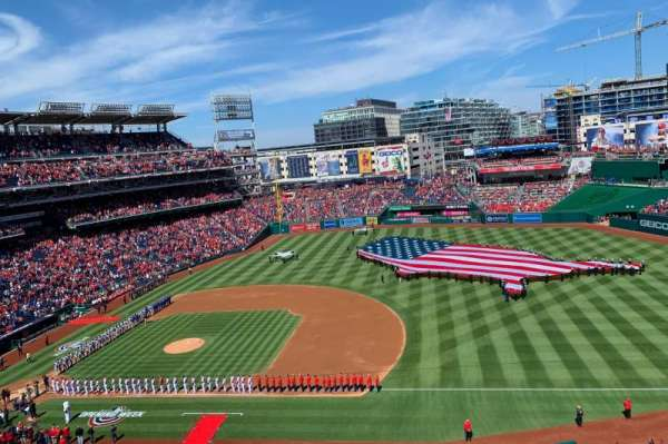 Nationals Park, section: 321, row: B, seat: 11