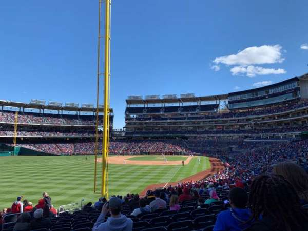 Nationals Park, section: 107, row: TT, seat: 21
