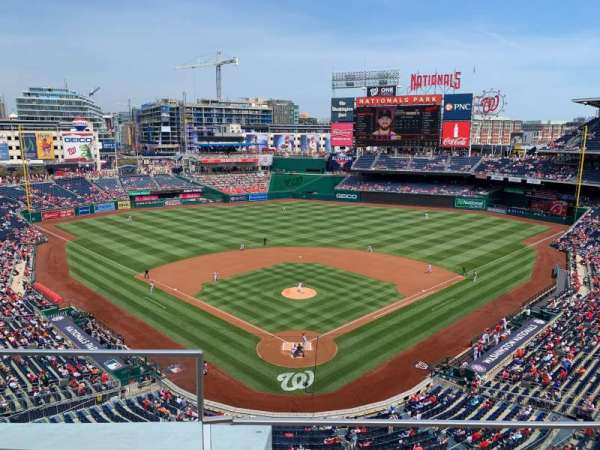 Nationals Park, section: 314, row: B, seat: 18