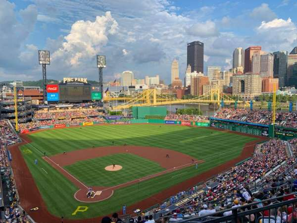 PNC Park, section: 314, row: F, seat: 9