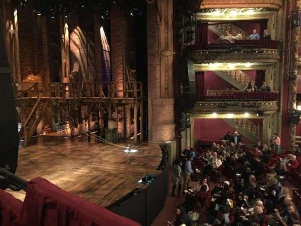 CIBC Theatre, section: Dress Circle Box 3, seat: 5