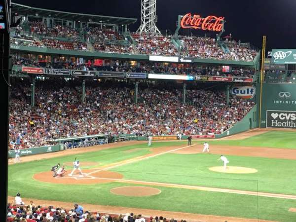 Fenway Park, section: Grandstand 15, row: 13, seat: 17
