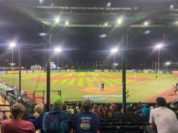 Jackie Robinson Ballpark, section: A, row: 15