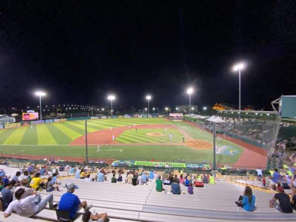 Jackie Robinson Ballpark, section: GA