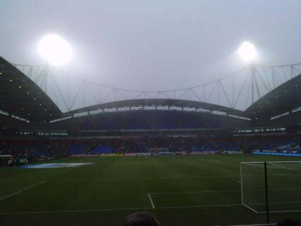 University of Bolton Stadium, section: South Stand Lower, row: J, seat: 92
