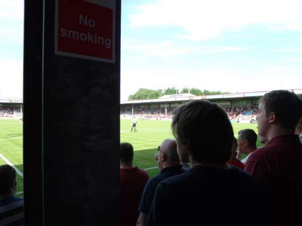 Glanford Park, section: South Stand, row: D, seat: 111