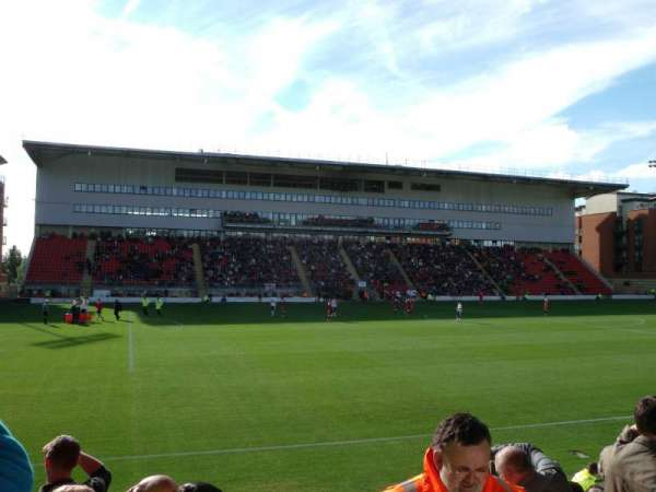 Brisbane Road, section: East Stand Upper, row: D, seat: 172