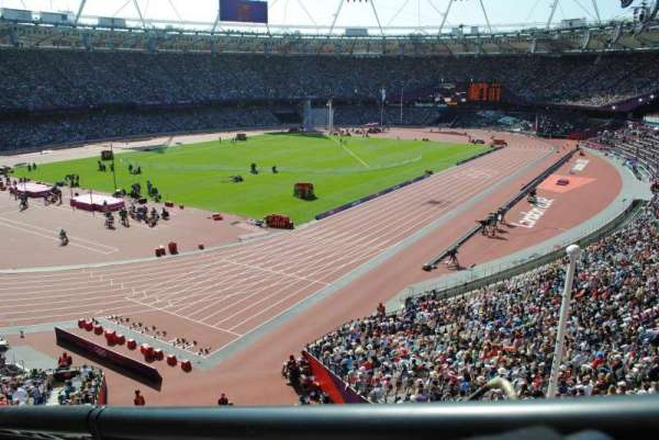 London Stadium, section: 256, row: 43, seat: 662