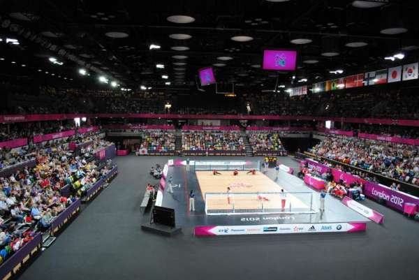 Copper Box Arena, section: 208, row: 11, seat: 68