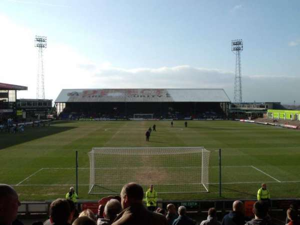 Boundary Park, section: Rochdale Road End, row: R, seat: 89
