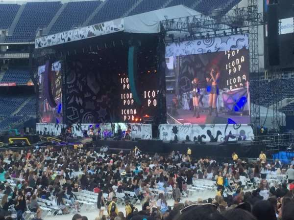 San Diego Stadium, section: 127, row: 28, seat: 10