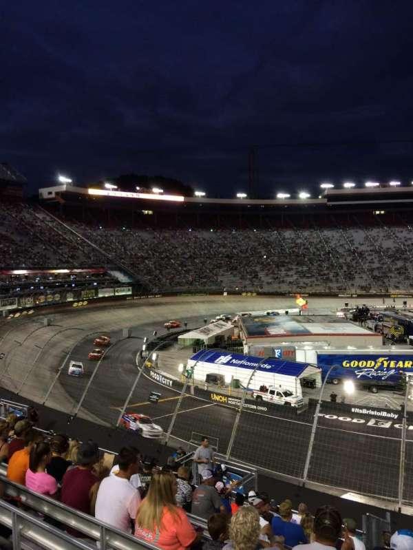 Bristol Motor Speedway, section: Richard Petty, row: 22, seat: 4