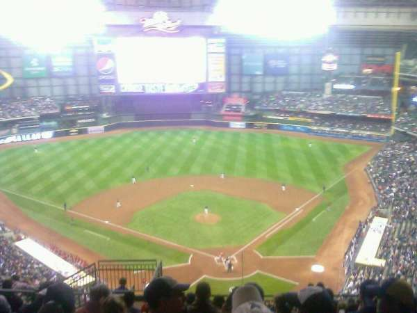 Miller Park, section: 425, row: 25, seat: 8