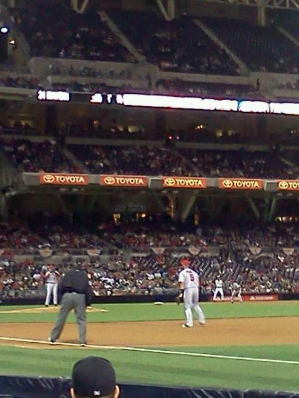 PETCO Park, section: 115, row: 5, seat: 17