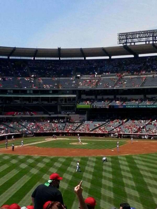 Angel Stadium, section: P238, row: H, seat: 12
