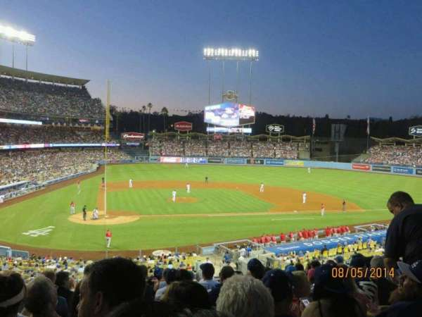 Dodger Stadium, section: 120LG, row: L, seat: 3
