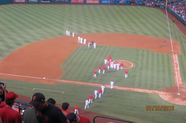 Angel Stadium, section: V413, row: D, seat: 2