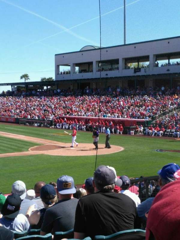 Tempe Diablo Stadium, section: 6, row: U, seat: 7