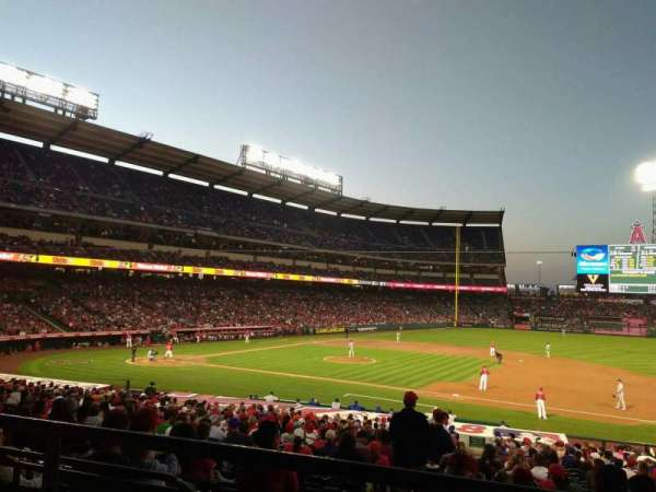 Angel Stadium, section: T224, row: B, seat: 14