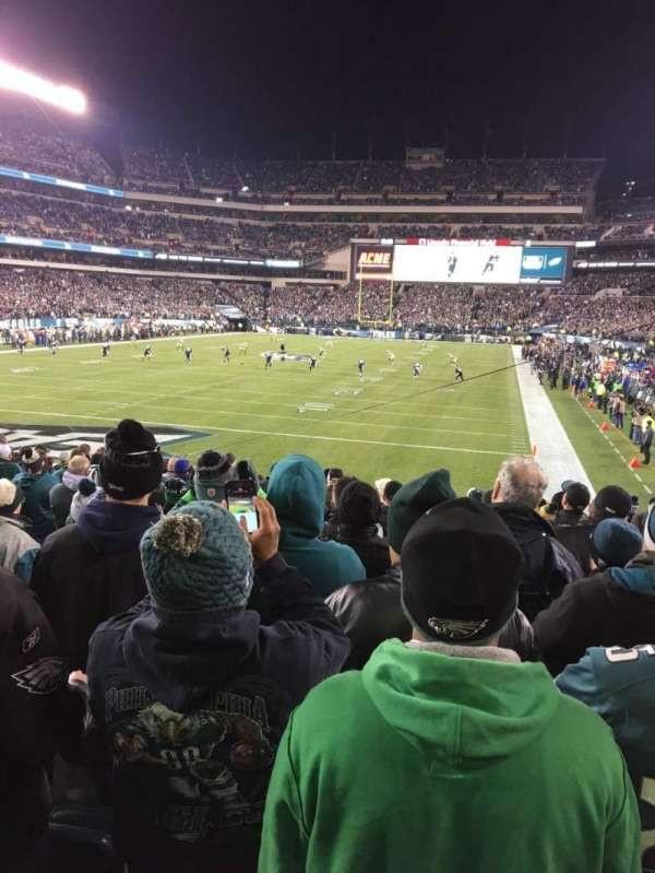 Lincoln Financial Field, section: 131, row: 16, seat: 9