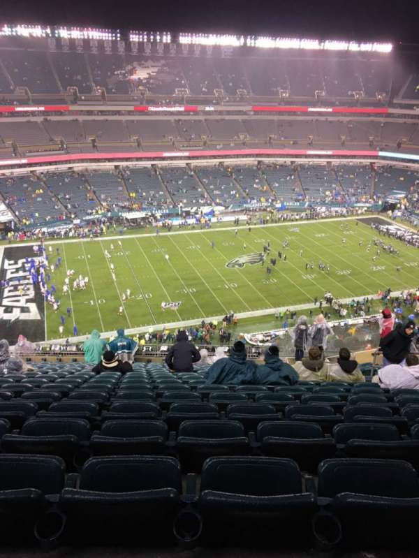 Lincoln Financial Field, section: 242, row: 20, seat: 10