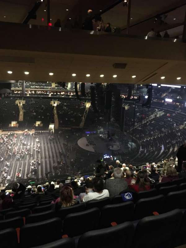 Madison Square Garden, section: 212, row: 16, seat: 10