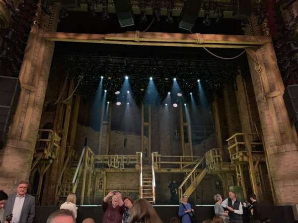 CIBC Theatre, section: orch-c, row: K, seat: 105