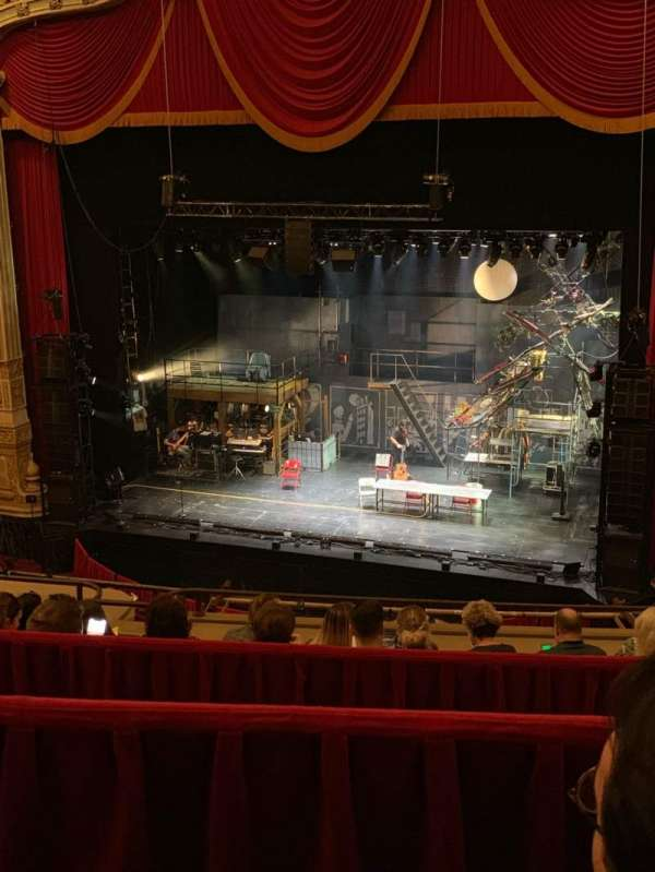 James M. Nederlander Theatre, section: Balcony RC, row: F, seat: 336
