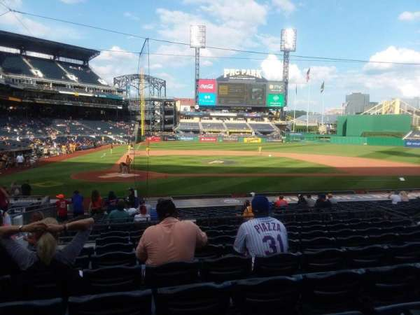 PNC Park, section: 113, row: J, seat: 16