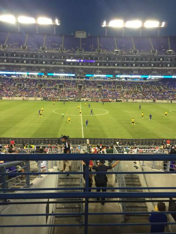 M&T Bank Stadium, section: 100, row: 29, seat: 1