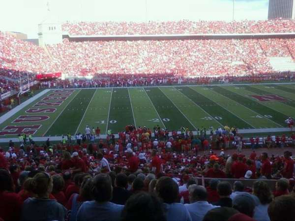 Memorial Stadium (Lincoln), section: 30