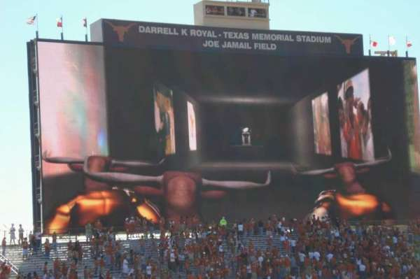 Texas Memorial Stadium, section: 32