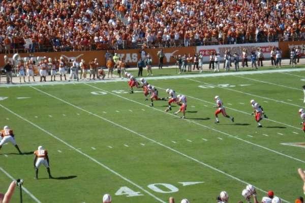 Texas Memorial Stadium, section: 29