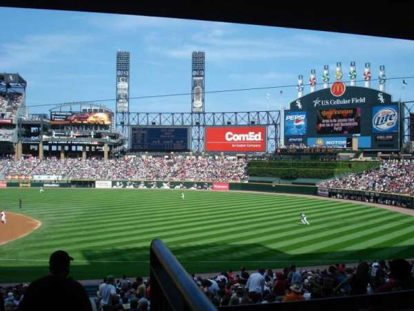 Guaranteed Rate Field, section: 116, row: 36, seat: 1