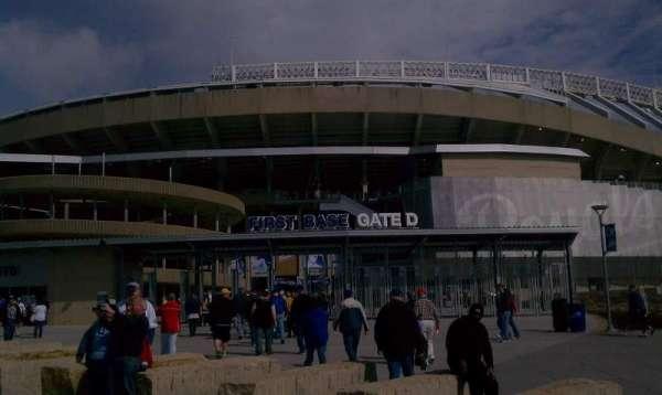 Kauffman Stadium, section: Gate D