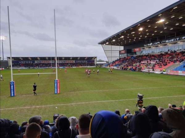 AJ Bell Stadium, section: North Stand, row: -, seat: -