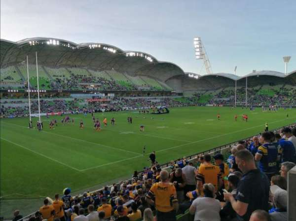 AAMI Park, section: S11, row: S, seat: 119