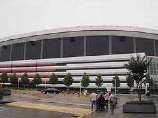 Georgia Dome, section: Outside